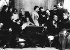 Chekhov and actors of Moscow's Artistic Theatre